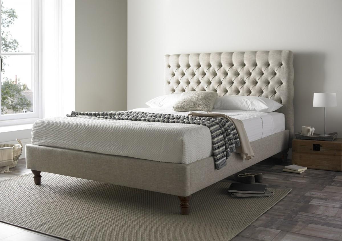 Bed frame upholstered bed frame ... MPJAOQC