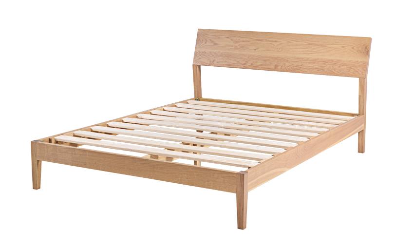 Bed frame wooden bed frame Singapore Antoine (5) YTBWFLS
