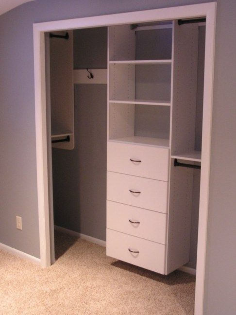 Tips and tricks for small wardrobes!     Remodel closet, small closets.