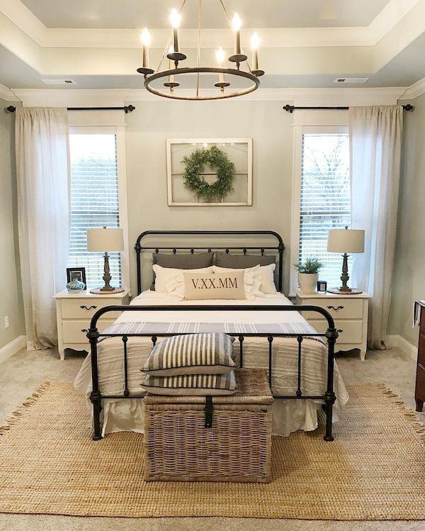 60 warm and cozy rustic bedroom decor ideas    Home decor RDDZUQF