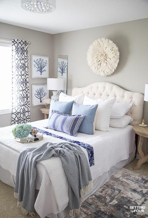 Bedroom decorating ideas 7 simple summer bedroom decorating ideas #decor #decoratingideas #decoating #summer #bedroom TFOFKCZ