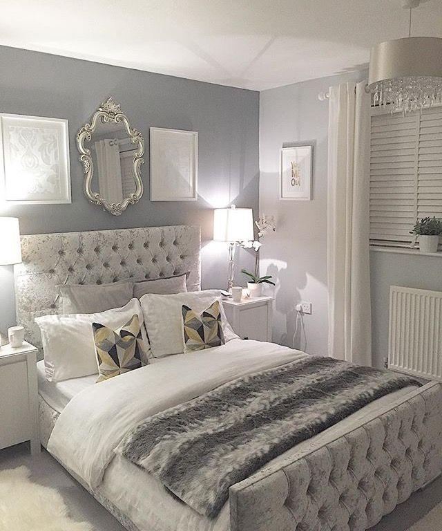 Rate this: fun gray bedroom decor ideas ... HKBPAGZ