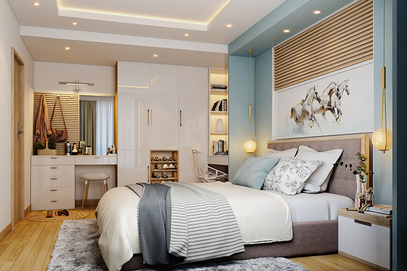 Space-saving bedroom furniture ideas for your home |  Design approx