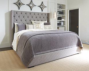Bedroom furniture ... large Sorinella upholstered bed,, Rollover YCJVKBR