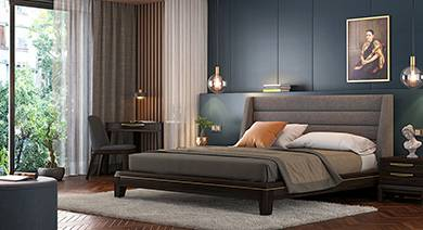 Bedroom furniture Taarkashi bedroom sets UNQOFOR
