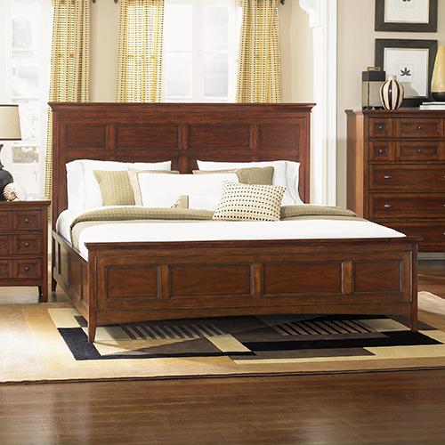 Bedroom furniture wooden panel bed SQPXMOD