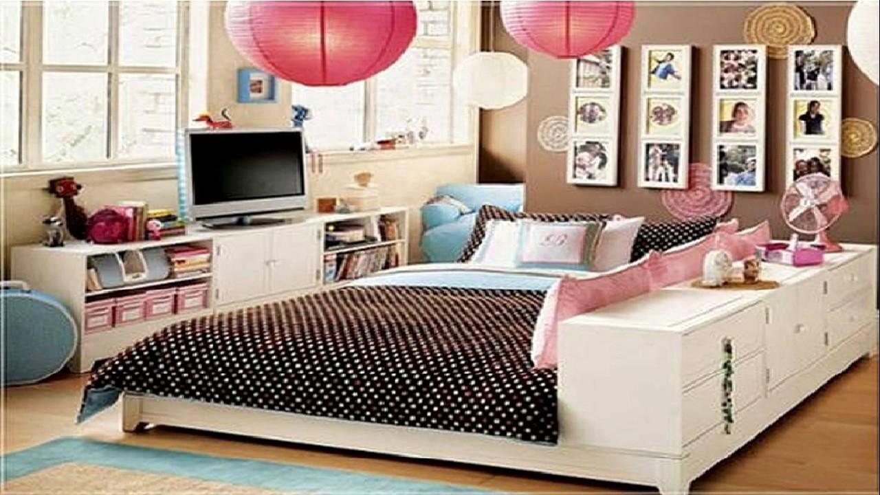 Bedroom Ideas For Girls 28 Cute Bedroom Ideas For Teenage Girls - Room Ideas - youtube TQJJIIC