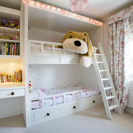 Bedroom ideas for decorating girls: Winsome girl bed ideas 11 bunk beds in room cottages and QFTYHIZ