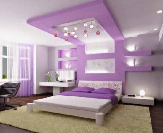Bedroom ideas for girls purple bedroom ideas DTZQHZN