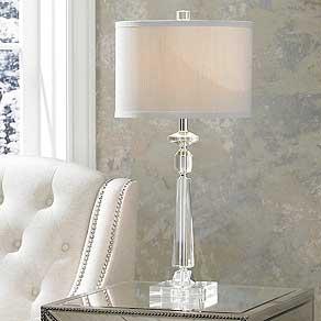 Bedroom lamps crystal.  Table lamps NCIFKOO