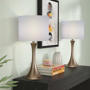 Bedroom lamps Louis 2-part table lamp (set of 2) MFVENZZ