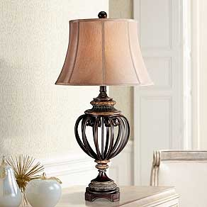 Traditional bedroom lamps XVWYCQJ