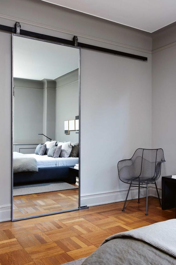Get chic ideas for decorating with mirrors to reflect the beauty.