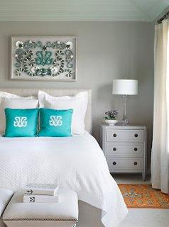 bedroom lacquer colors photo by annie schlechter / gma images.  Designed by Karen Robertson THMTSRS