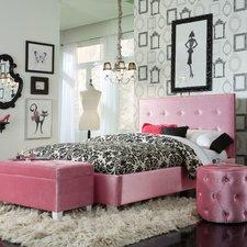 Bedroom sets for girls - girls bedroom sets - blair panel - customizable - bedroom set KZXWZJX