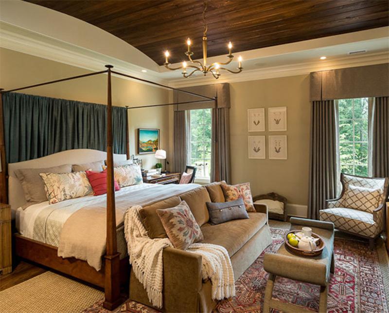 Bedroom-sofa traditional country house-bedroom-chair-sofa-interior BAFGWGW