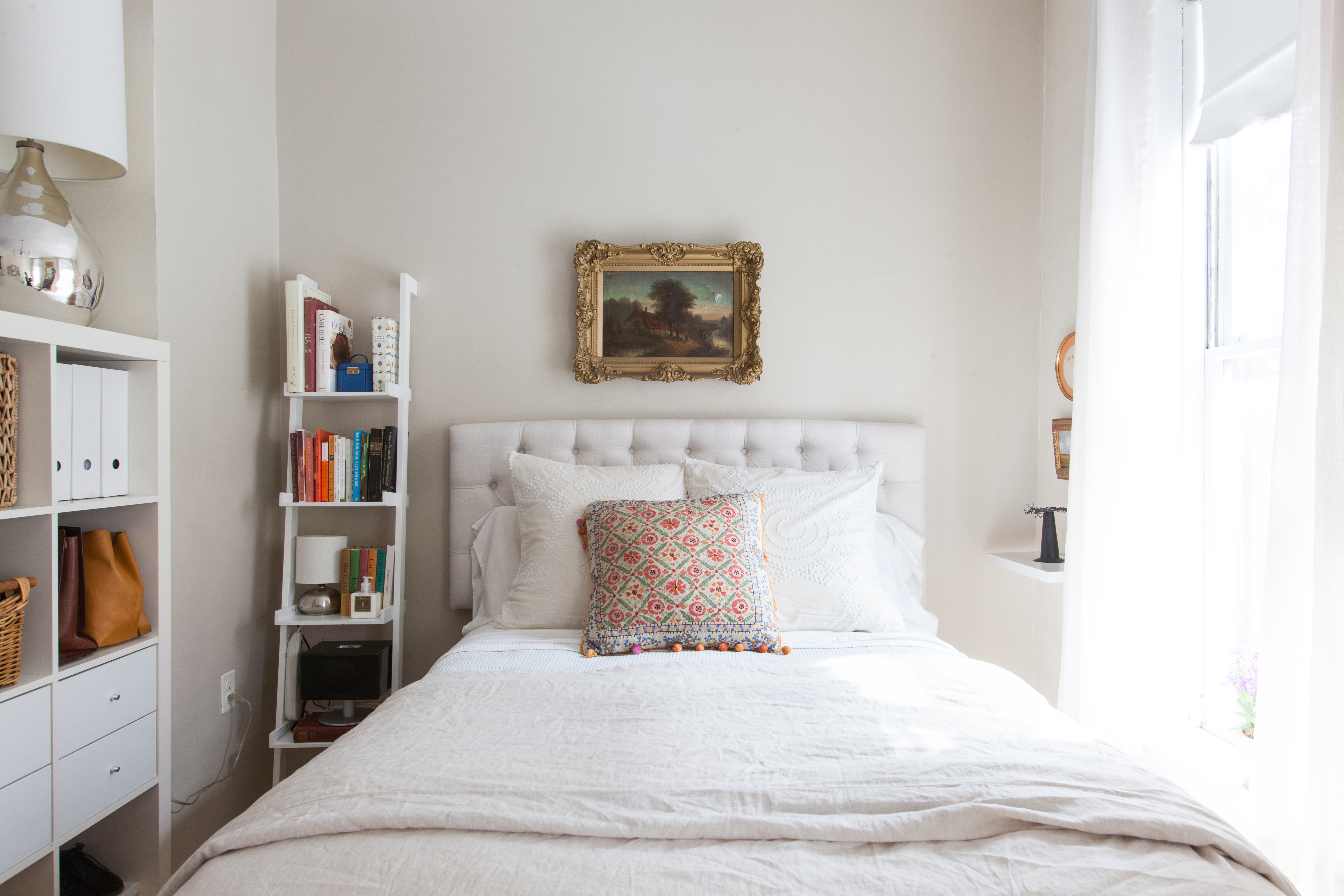 Bedroom storage ideas tour of a very small but super cute 190 square foot studio JBYCOLU