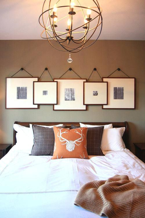 Above bed decor ideas gray room d on large bedroom wall art full
