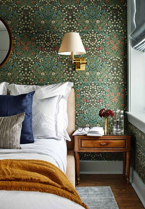 34 Bedroom Wallpaper Ideas - Statement Wallpapers We Lo