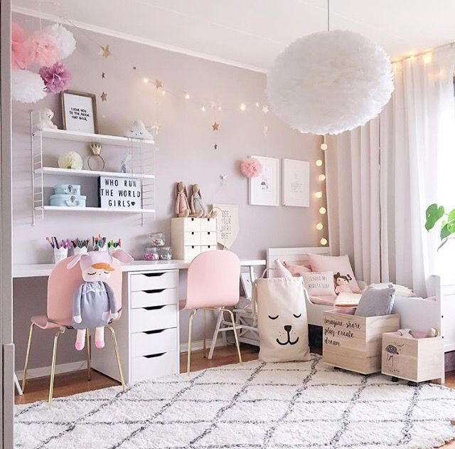Bedroom for girls a pretty pink girl's room - for me is VRXNIGU