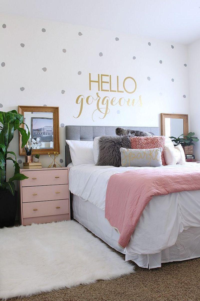 Bedroom for girls great 48 cute bedclothes for girlsu0027 bedroom decor ideas https: // modernhousemagz.  VLHWFDD