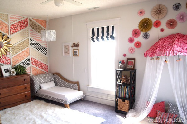 Bedroom for girls if you decorate a girl's room with a lot of NOZAEWHEW