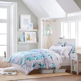 Girls' Bedroom Lavender Fields Chelsea Bedroom · Kaleidoscope Flowers Hampton Bedroom NWVHDBU