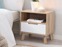 Bedside tables - modern, inexpensive bedside tables |  mocka DGKCVDW