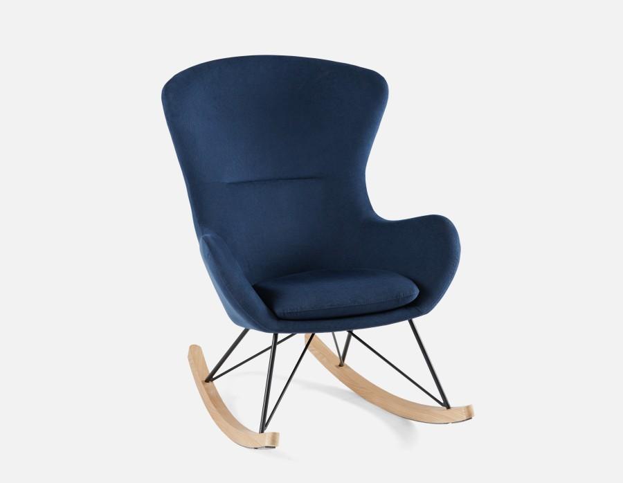 benet - rocking chair - dark blue CZMAUHE