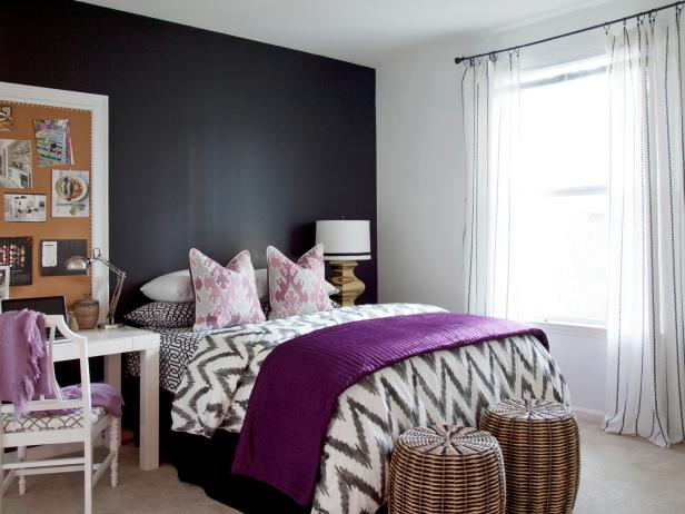 Black and white bedroom 15 Black and white bedroom |  hgtv OAXFKSD