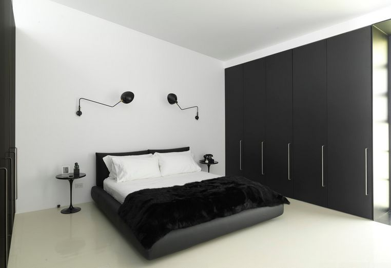 Black and white bedrooms 35 timeless black and white bedrooms that know how to stand out from the crowd LIXSDYG
