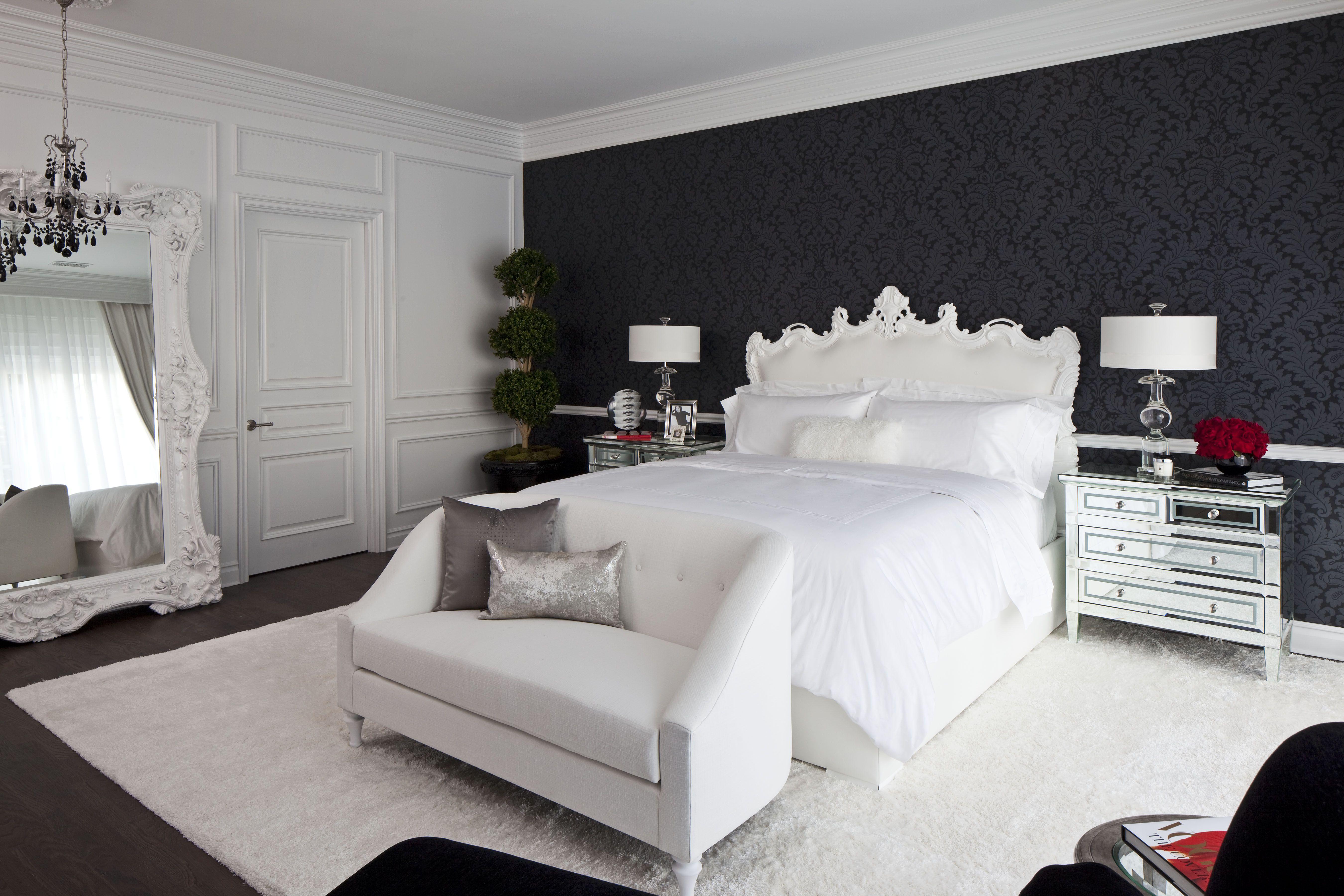 Black and White Bedroom 36 Black and White Bedroom - Bedroom Ideas RJVITMZ