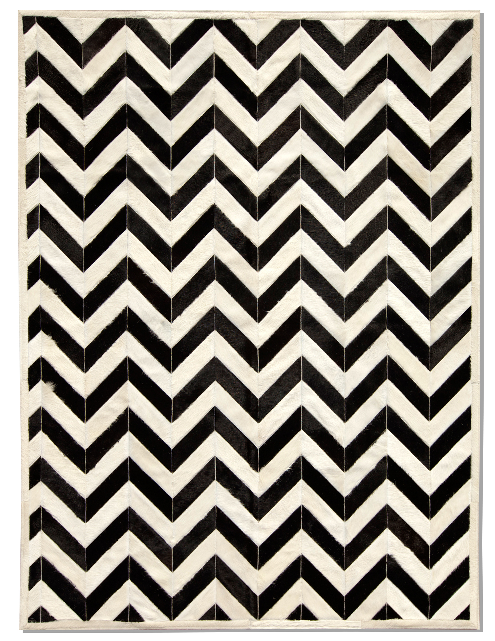 black and white carpets made to measure global - product detail - exclusive - Yves cowhide carpet - IMKIMIG