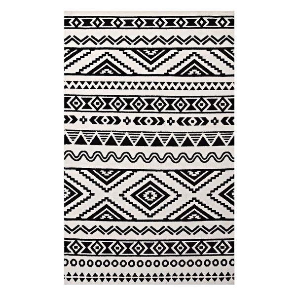 Black and white carpets Black and white tribal carpet |  Wayfair JXMNHHA