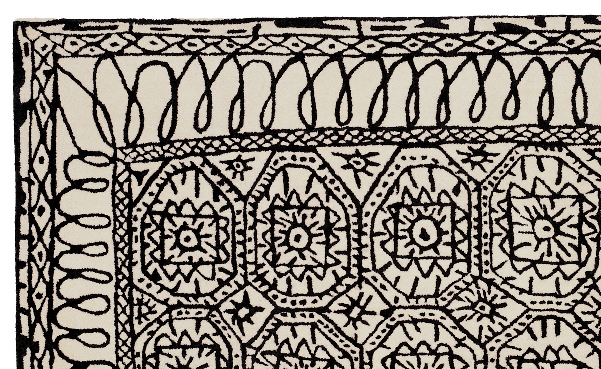 black and white carpets black and white collection estambul carpet CACMIGS