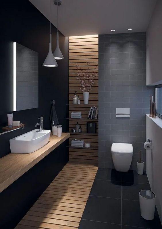 Black bathroom ideas for a stylish remodel