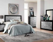 black bedroom furniture sets glamor bedroom set LFTIUOQ