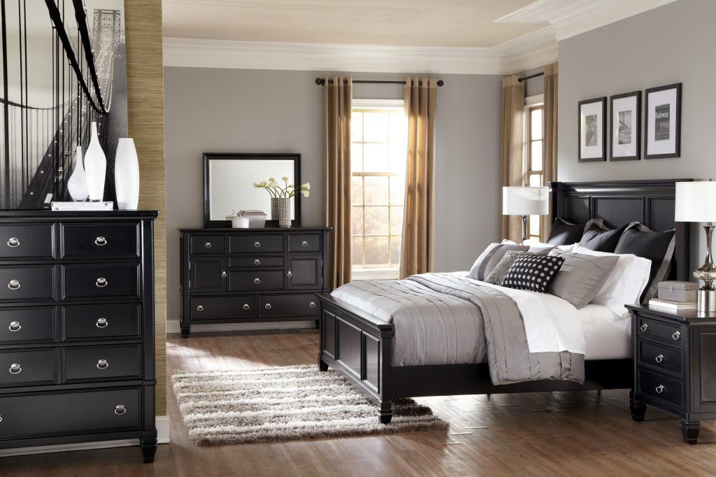 Black bedroom furniture sets impressive with image of the black bedroom style STWSKJR