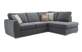 black corner sofa bijoux left armrest open corner sofa sorbet QBQOFBO