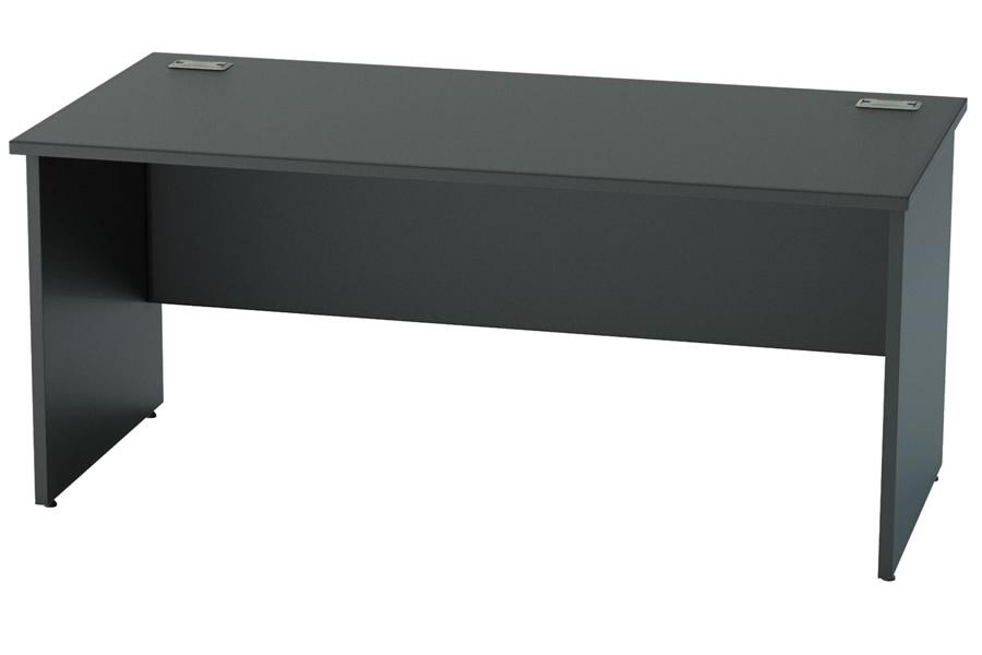 black desk nene black rectangular table with legs MWOIHSH