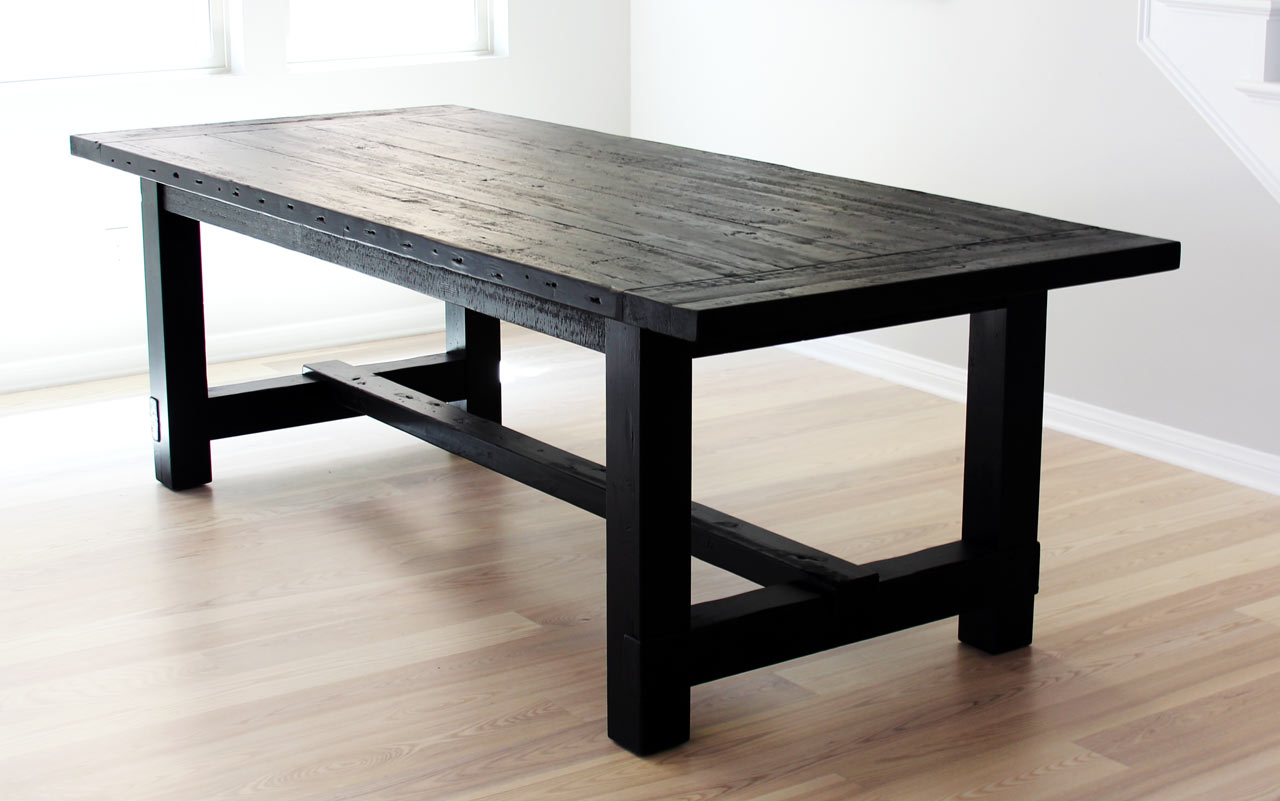 black dining table the greatest dining table ever + a few things about imperfection ... RPFJXLB