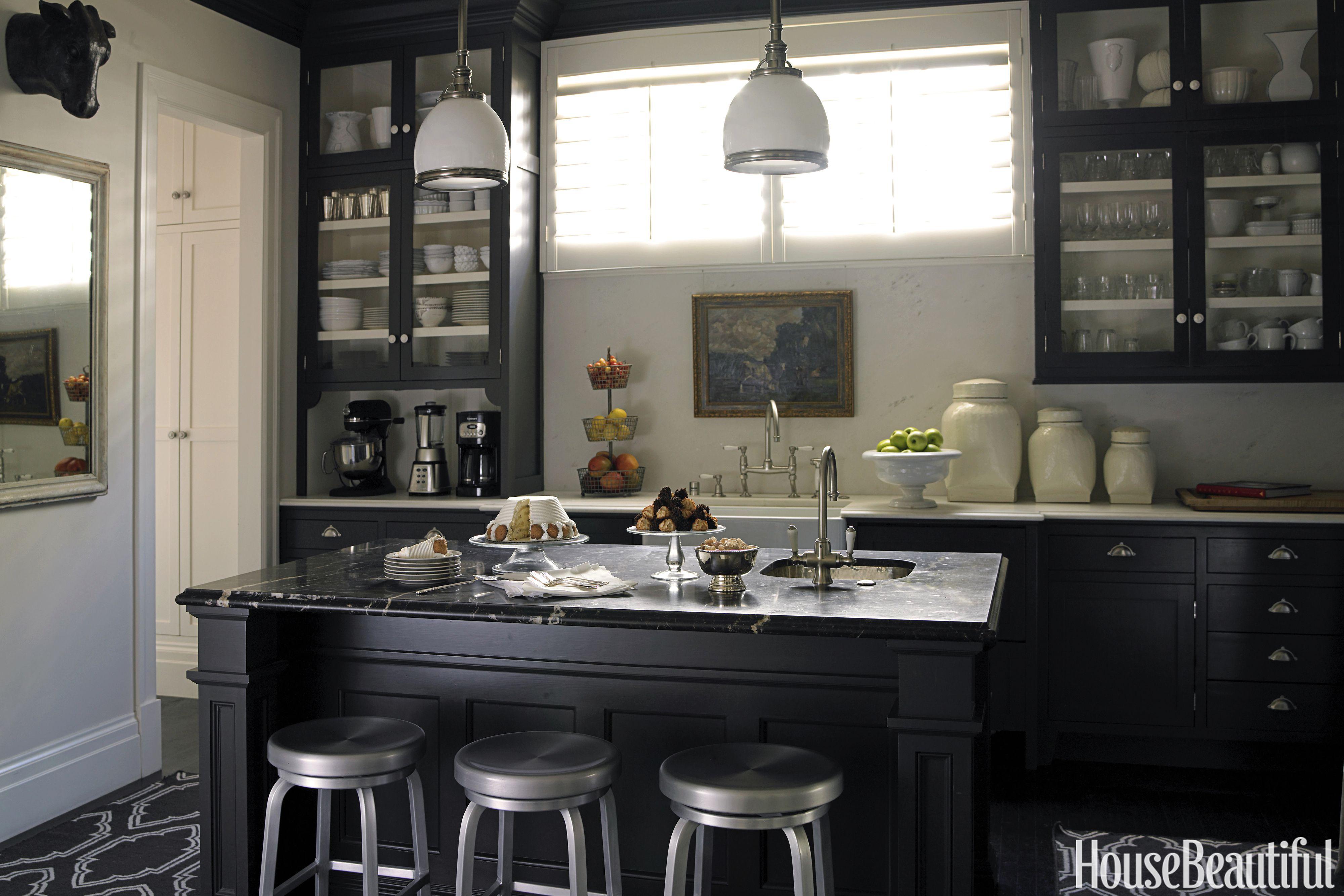 Black Kitchen Cabinets 10 Ideas For Black Kitchen Cabinets - Black Cabinets And Cabinets RCFHIXL