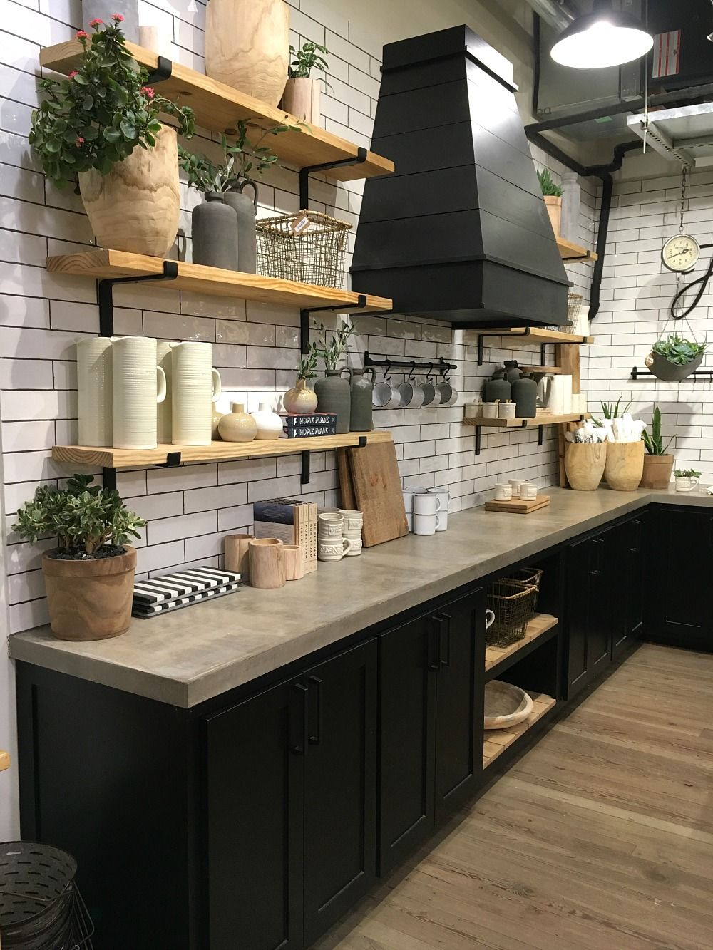 black kitchen cabinets beautiful farmhouse style kitchen in magnolia market.  5 things you should know about MBEASTU