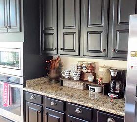 black kitchen cabinets taper reveal, kitchen cabinets, kitchen design IFQCDOD
