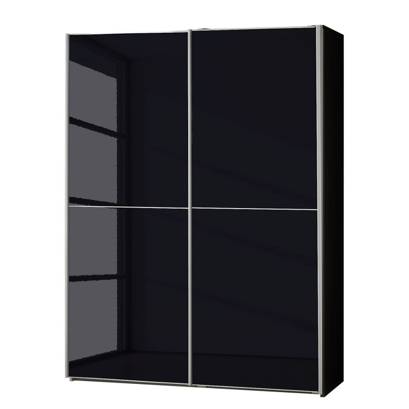 black wardrobe miami black sliding door wardrobe from wiemann XYSEBDW