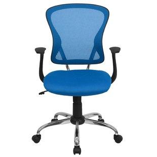 blue desk chairs AEVFESC