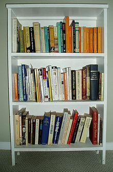 Bookshelf a bookshelf full of books THOBZVG