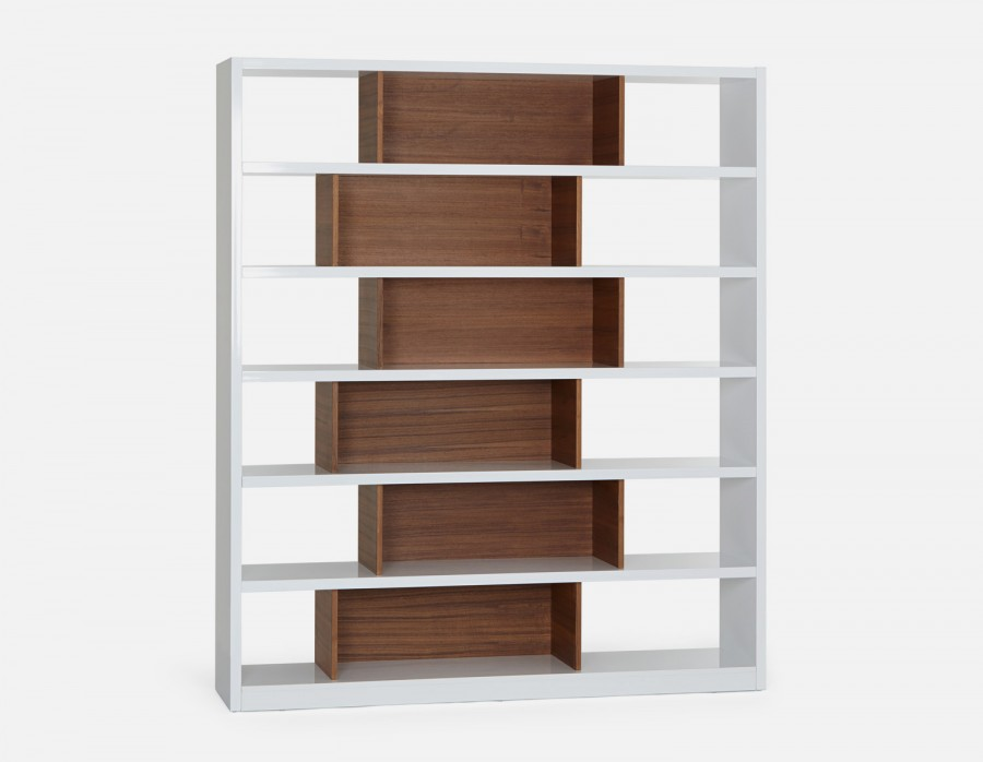 Chicago bookcase - bookcase - white HNLHGEJ