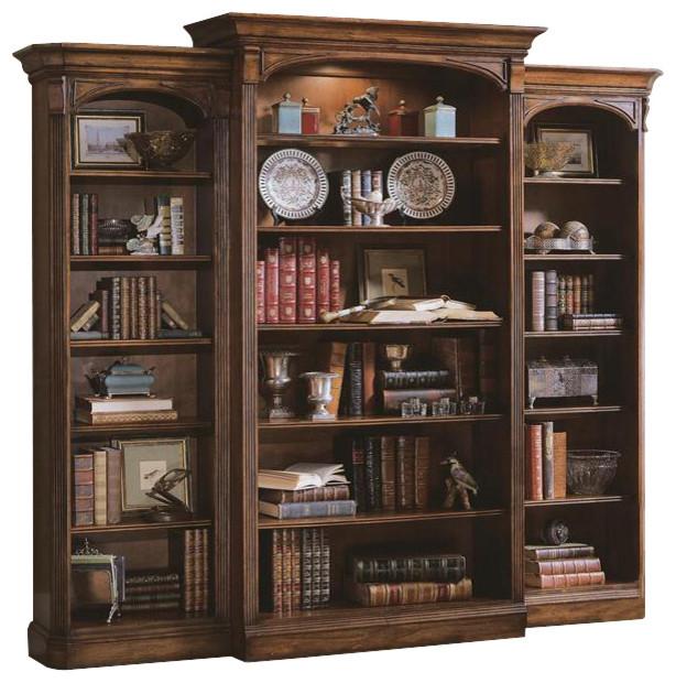 Bookcase Hooker Furniture Brookhaven bookcase, left LOFUAVP