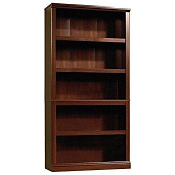 Bookcase Sauder 412835 select Bookcase with 5 shelves, Select cherry NAWKSVI